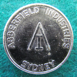 "Abberfield Industries Sydney Token "" Use With Aberfield Industries Token Dispensers """