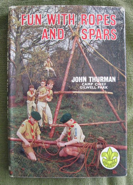 Fun With Ropes and Spars Australian Boy Scouting book