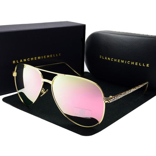 BLANCHE MICHELLE Trendy High Quality Pilot Sunglasses for Women