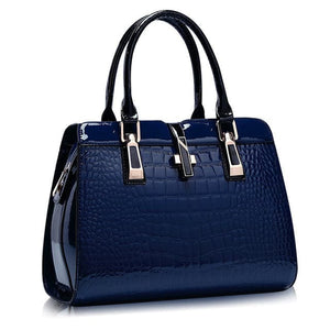 ETALOO Women's Fashion Genuine Leather Embossed Designer Handbag