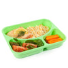 Image of SET of 9 Colored Reusable-Easy To Clean Lunch Boxes