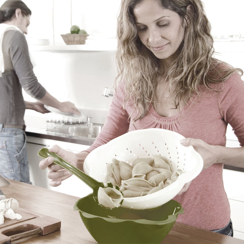 Pasta Bowl - All Included Set  To Prepare and Serve Your Pastas