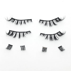 I'm So Chic Full Strips - 1 Pair of Magnetic 3D Mink Full Strip Lashes