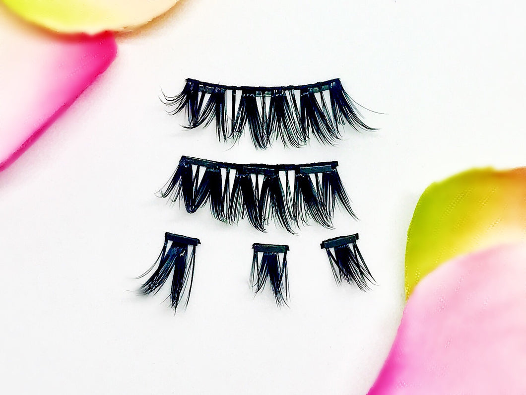 Rock Star Full Strips- 1 Pair of Magnetic Full Strip Lashes