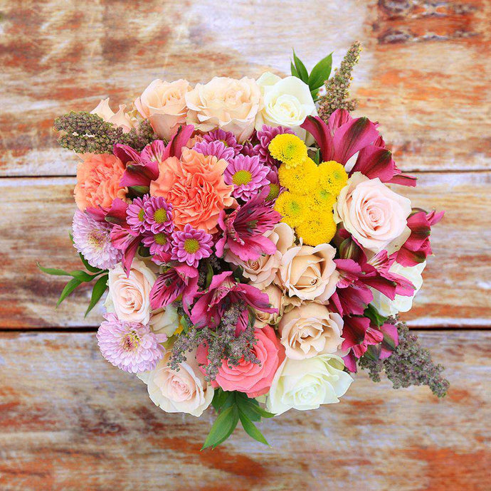Stunning Fresh Flower Bouquet - Rosaholics