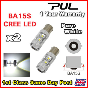 VW T5 T6 Transporter 2009 - 2015 LED DRL Headlight Upgrade Bulbs White 6000k
