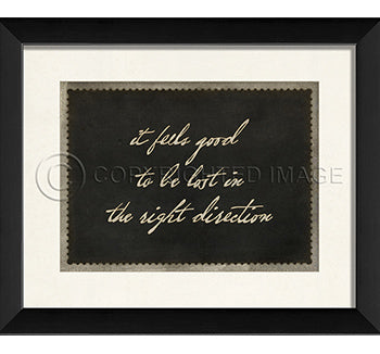 Right Direction Print