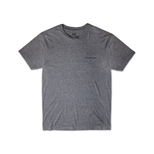 Cans Tee - Heather Grey - Men's T-Shirt - MadeWest Brewery