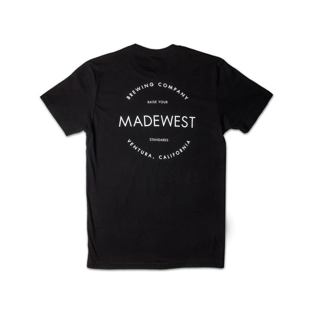 BIV Tee - Black - Men's T-Shirt - MadeWest Brewery