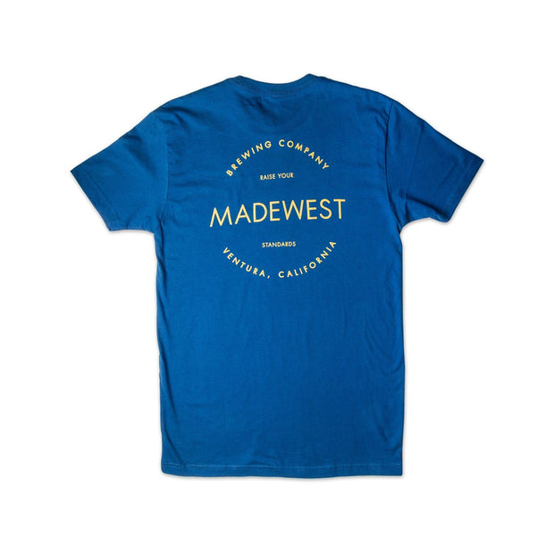 BIV Tee - Blue - Men's T-Shirt - MadeWest Brewery