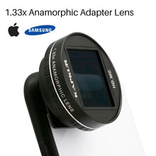 Anamorphic Filmmaking Phone Lens with Phone Case - Phonetographr