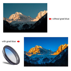 Lens Filter Kit With 2 Grad Filters+CPL+ND Filter-16mm - Phonetographr