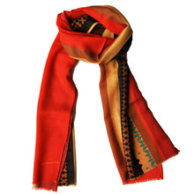 The Traditional Colours Wool Scarf - THE BLACK EARS