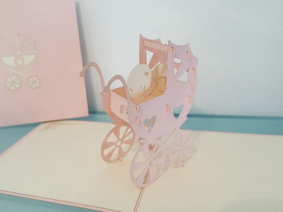 Baby Carriage - Pink