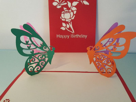 Birthday Butterflies