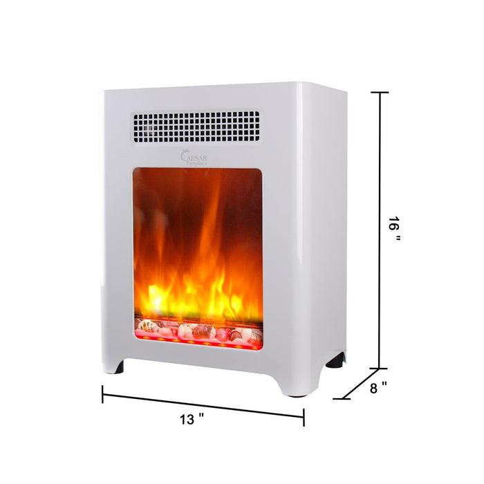 Caesar Fireplace CHFP-003 Luxury Portable Mini Indoor Compact Freestanding Room Heater-Long Mountains