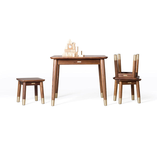 Xiaomi TongShiFu Black Walnut Table and Stool