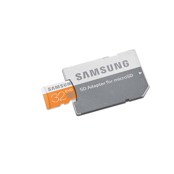 Samsung MicroSDHC UHS-I Card with SD Adapter