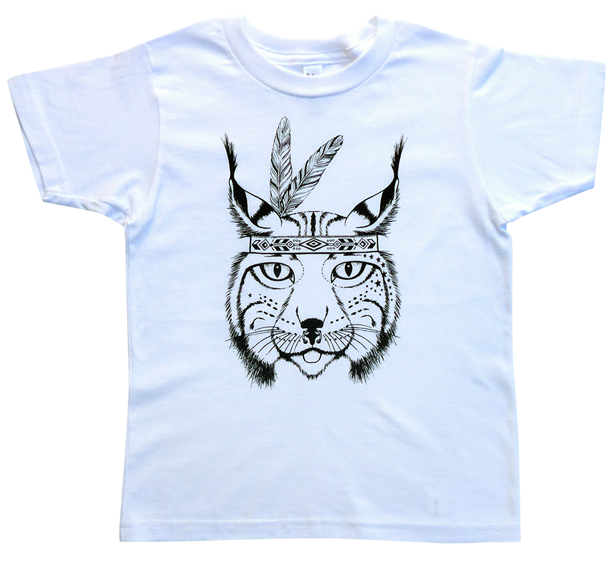 The Journey Rae Lynx Tee in White
