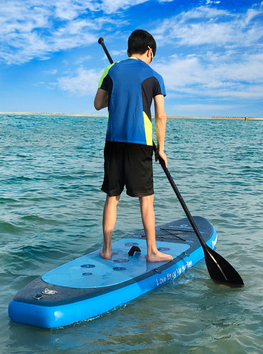 WOWSEA Insuflável 10 polegadas Stand Up Paddle Board Pacotes AN16 iSUP - pt.wowseastore.com