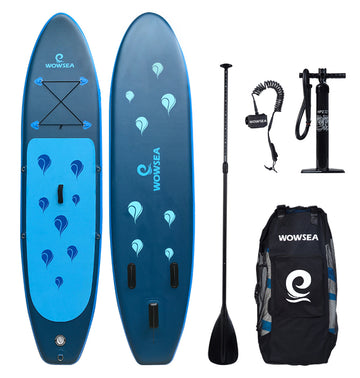 WOWSEA Insuflável 10.6 polegadas Stand Up Paddle Board Pacotes AN16 iSUP - pt.wowseastore.com