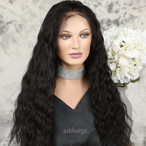 New Arrival Water Wave Full Lace Wig Human Hair Wigs