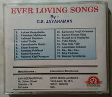 Ever Loving Songs By C. S. Jayaraman