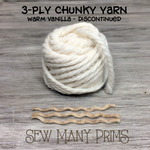 3ply yarn for Santa beards