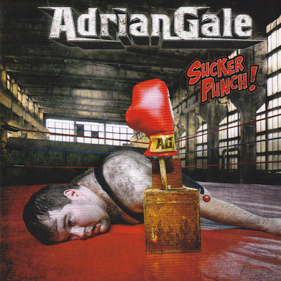 ADRIANGALE - SUCKER PUNCH! Featuring Jamie Rowe of Guardian! (*NEW-CD, Kivel Records)