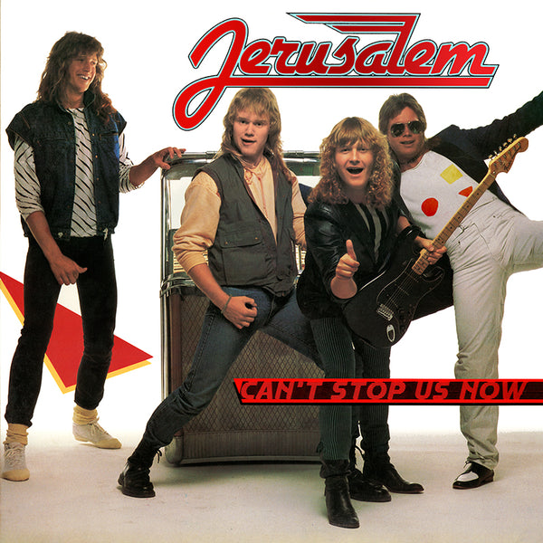 JERUSALEM - CAN'T STOP US NOW (Legends Remastered) (*NEW-CD, 2018, Retroactive Records)