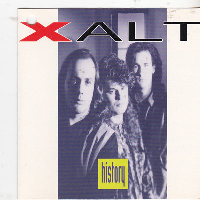 XALT - HISTORY (*NEW-CD, 1991, Pure Metal Records)