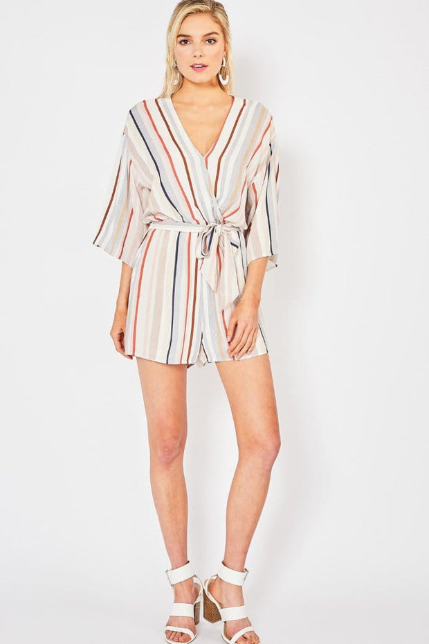 For The Record Romper