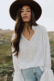 RESTOCK - Liv Polka Dot Top