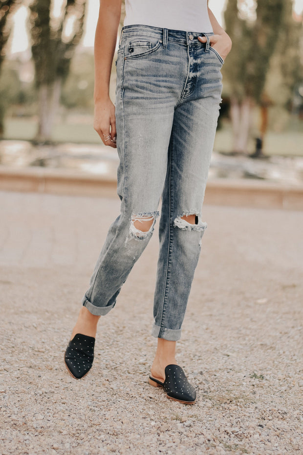 RESTOCK - Uptown Girlfriend Jeans