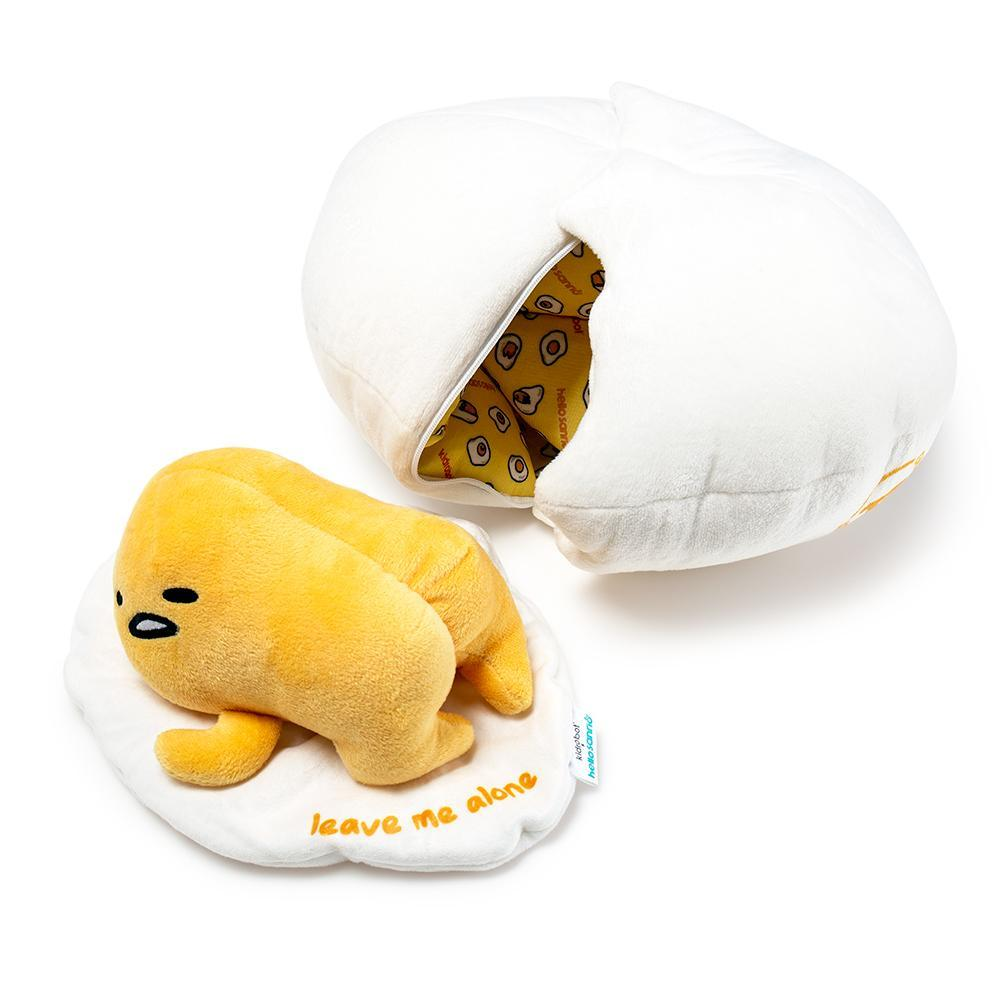 SANRIO GUDETAMA LAZY EGG MEDIUM PLUSH-Kidrobot-Plush-TorontoCollective
