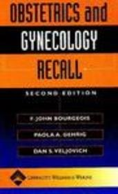 Obstetrics and Gynecology Recall (Recall Series)