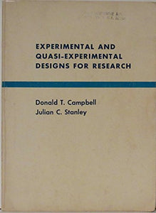 Experimental And Quasi-Experimental Designs For Research
