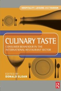 Culinary Taste (Hospitality, Leisure and Tourism)