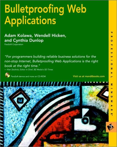 Bulletproofing Web Applications (M&T Books)