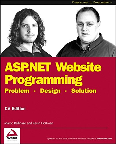 ASP.NET Website Programming: Problem - Design - Solution, C# Edition (Programmer to Programmer)