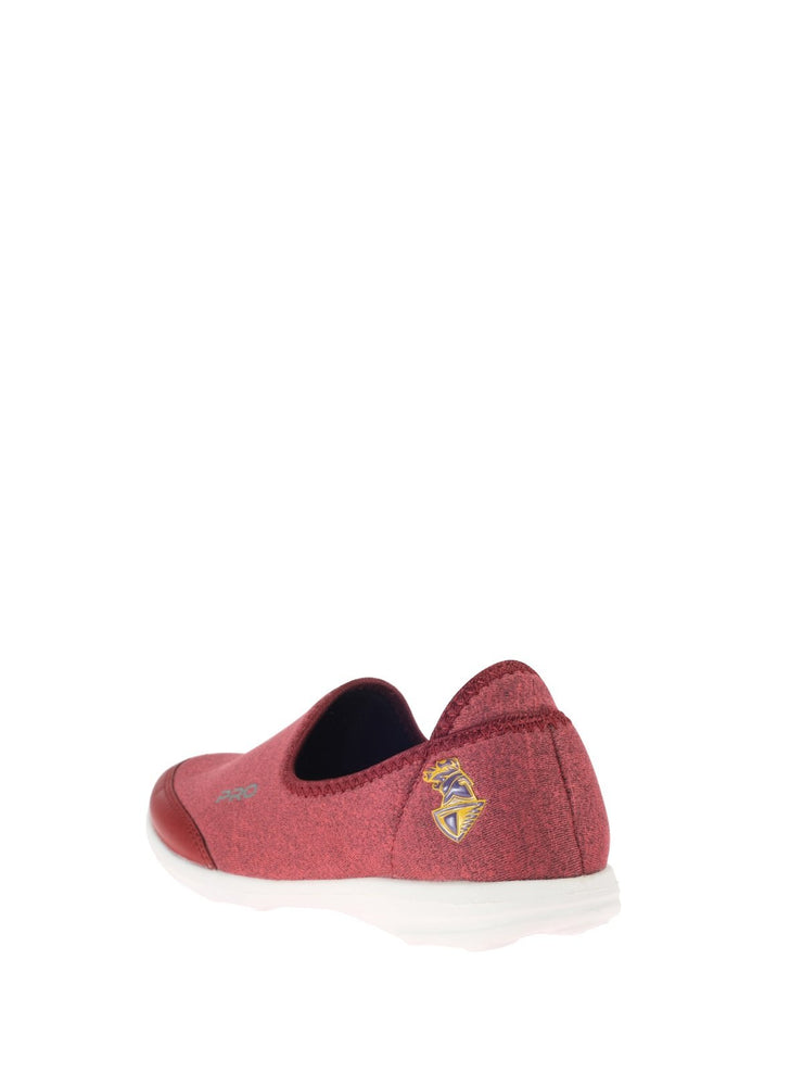 Khadim's Pro Women Magenta Casual Slip-On Sneakers