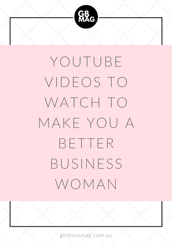 youtube videos for businesswomen