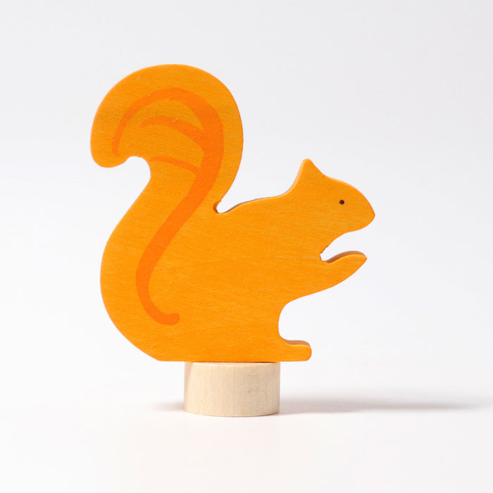 03315 Grimms Squirrel Candle Holder Decoration