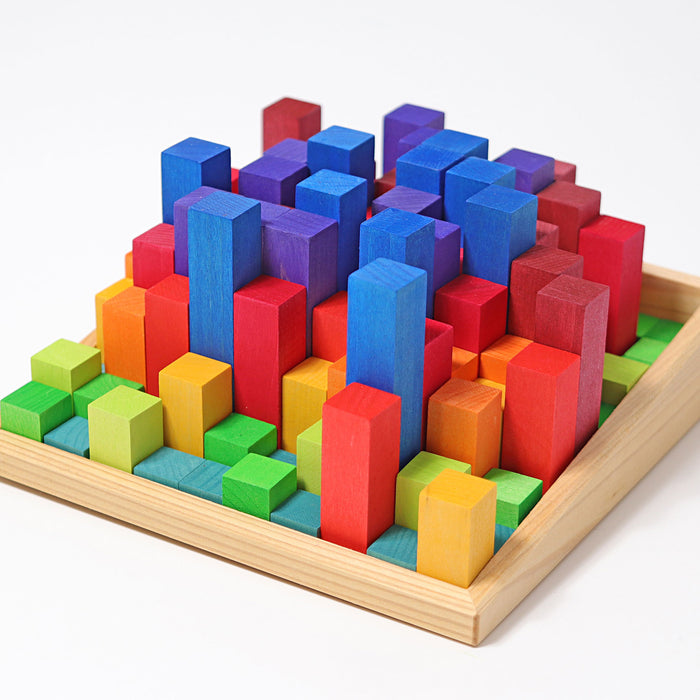 42100 Grimms Small Stepped Counting Blocks