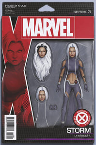 HOUSE OF X #2 (OF 6) CHRISTOPHER ACTION FIGURE VARIANT 08/07/19 FOC 07/15/19
