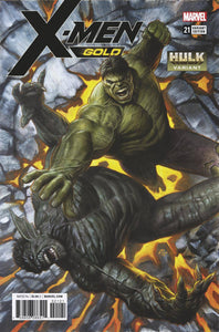 X-MEN GOLD #21 HULK VAR LEG 02/07/18 RD