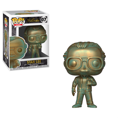 STAN LEE (PATINA) FUNKO POP! (March)