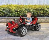 Peg Perego Polaris Slingshot Remote Control Electric Car 12v Ride On- Bounce and Swing