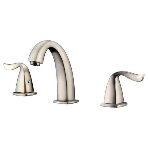 "Dawn 6"" 1.2 GPM Bathroom Faucet, Brushed Nickel, AB04 1272BN"