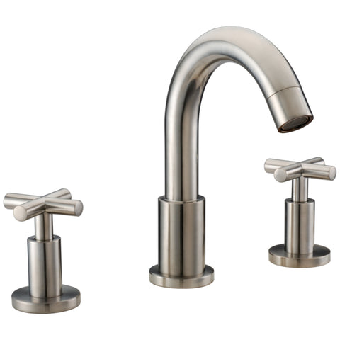 "Dawn 9"" 1.2 GPM Bathroom Faucet, Brushed Nickel, AB03 1513BN"